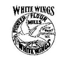WHITE WINGS PIONEER FLOUR MILLS HIGHEST QUALITY SAN ANTONIO, TEX. PALOMA WHITE WINGS