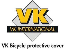 VK VK INTERNATIONAL VK BICYCLE PROTECTIVE COVER