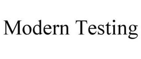 MODERN TESTING