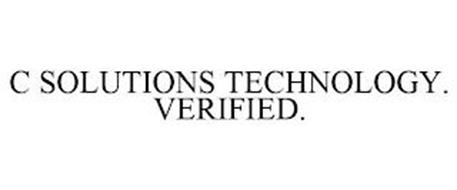 C SOLUTIONS TECHNOLOGY. VERIFIED.