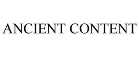ANCIENT CONTENT