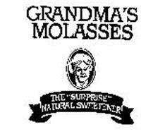 """GRANDMA'S MOLASSES THE """"SURPRISE"""" NATURAL SWEETENER"""