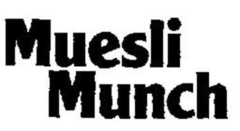 MUESLI MUNCH