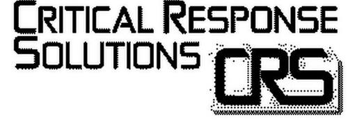 CRITICAL RESPONSE SOLUTIONS CRS