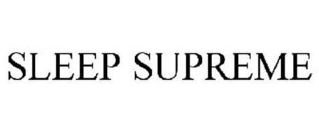 SLEEP SUPREME