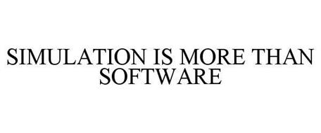 SIMULATION IS MORE THAN SOFTWARE