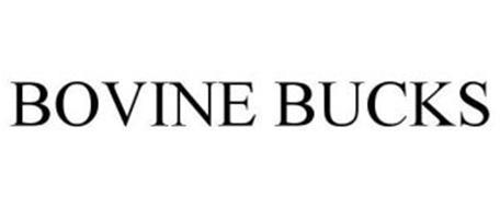 BOVINE BUCKS