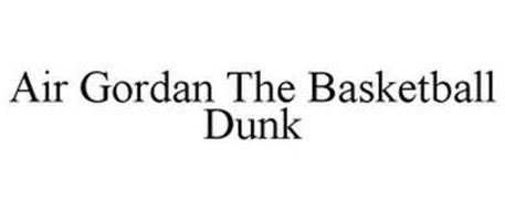 AIR GORDAN THE BASKETBALL DUNK