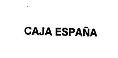 CAJA ESPANA