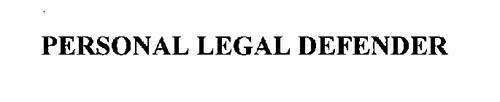 PERSONAL LEGAL DEFENDER