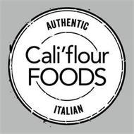 AUTHENTIC ITALIAN CALI'FLOUR FOODS