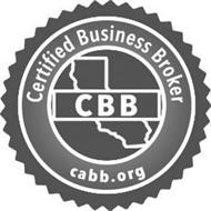 CBB CERTIFIED BUSINESS BROKER CABB.ORG