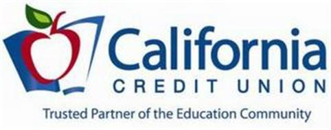 CALIFORNIA CREDIT UNION TRUSTED PARTNER OF THE EDUCATION COMMUNITY