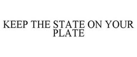 KEEP THE STATE ON YOUR PLATE