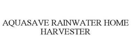 AQUASAVE RAINWATER HOME HARVESTER