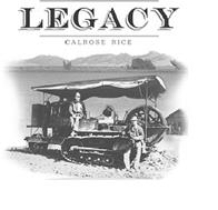 LEGACY CALROSE RICE