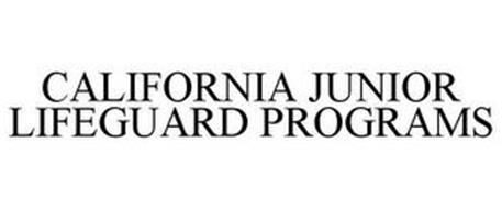 CALIFORNIA JUNIOR LIFEGUARD PROGRAMS