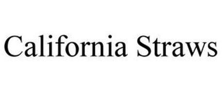 CALIFORNIA STRAWS