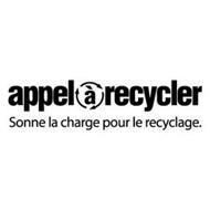 APPELÀRECYCLER SONNE LA CHARGE POUR LE RECYCLAGE.
