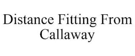 DISTANCE FITTING FROM CALLAWAY