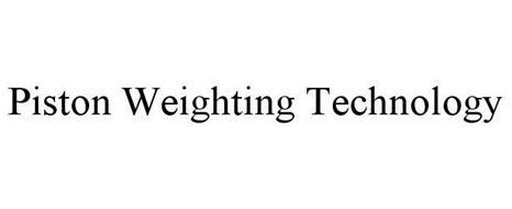 PISTON WEIGHTING TECHNOLOGY