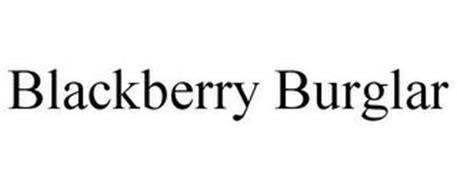 BLACKBERRY BURGLAR