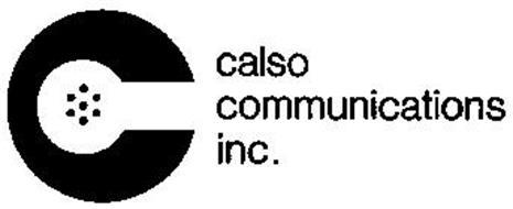 C CALSO COMMUNICATIONS INC.