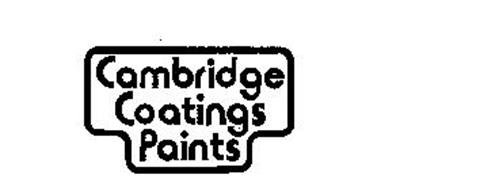 CAMBRIDGE COATINGS PAINTS