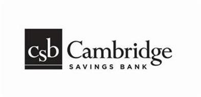 CSB CAMBRIDGE SAVINGS BANK
