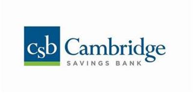 CSB CAMBRIDGE SAVINGS BANK