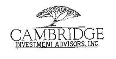CAMBRIDGE INVESTMENT ADVISORS, INC.