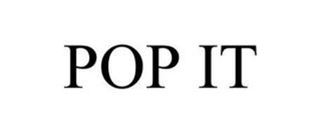 POP IT