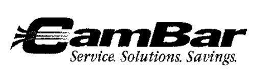 CAMBAR SERVICE. SOLUTIONS. SAVINGS.