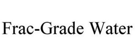 FRAC-GRADE WATER