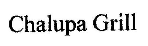 CHALUPA GRILL