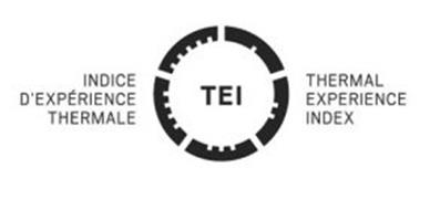TEI INDICE D'EXPERIENCE THERMALE THERMAL EXPERIENCE INDEX