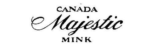 CANADA MAJESTIC MINK