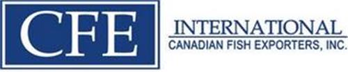 CFE INTERNATIONAL CANADIAN FISH EXPORTERS, INC.