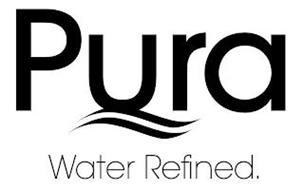 PURA WATER REFINED.