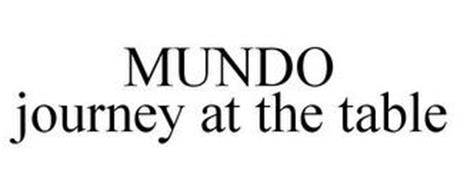 MUNDO JOURNEY AT THE TABLE