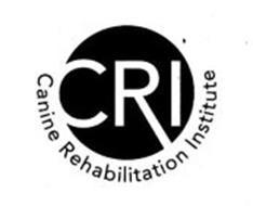 CRI CANINE REHABILITATION INSTITUTE