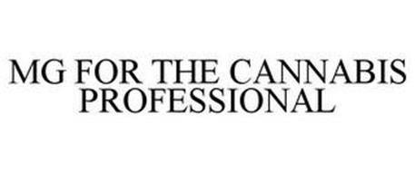 MG FOR THE CANNABIS PROFESSIONAL