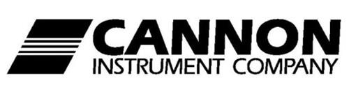 cannon instrument company trademark of cannon instrument