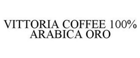 VITTORIA COFFEE 100% ARABICA ORO