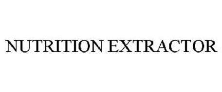 NUTRITION EXTRACTOR