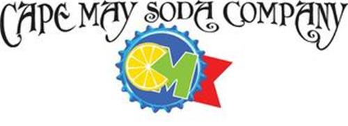 CM CAPE MAY SODA COMPANY