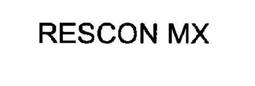RESCON-MX