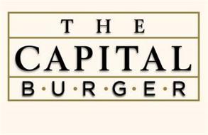 THE CAPITAL B ·U · R · G · E · R