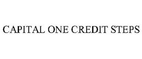 CAPITAL ONE CREDIT STEPS Trademark of Capital e