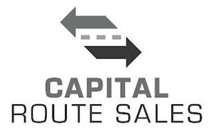 CAPITAL ROUTE SALES